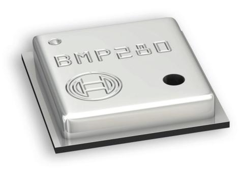 BMP280. Sensor de presión atmosférica.